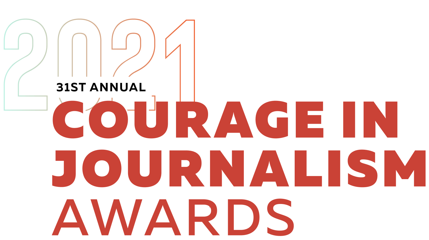 2021 31st Annual Courage In Journalism Awards